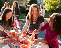 Consider a block party as one of your next walkathon fundraiser ideas.