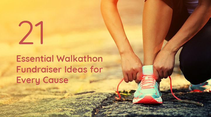 Check out these walkathon fundraiser ideas for every cause!